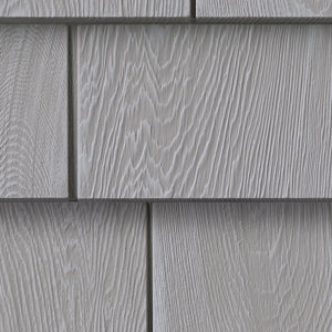 "Foundry, Vinyl Shake Siding, 5"" Grayne Shingle"