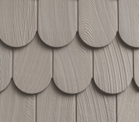 Foundry, Vinyl Shake Siding, Round Shape, (Covers 50 sq. ft.)