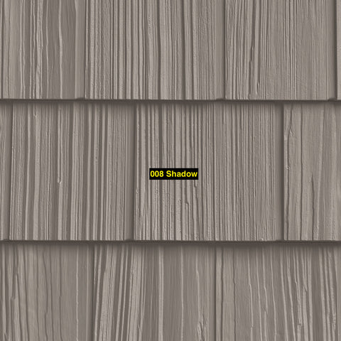 "Foundry, Vinyl Shake Siding, Split Shake, 7"" Exposure, Covers 100 sq. ft."