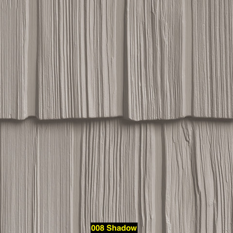 "Foundry, Vinyl Shake Siding, Staggered Shake, 7"" Exposure, (Covers 100 sq. ft.)"
