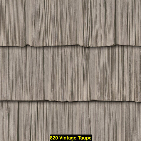 "Foundry, Vinyl Shake Siding, Staggered Shake, 7"" Exposure, Covers 100 sq. ft."