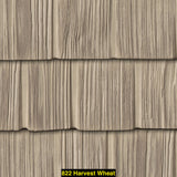 "Foundry, Vinyl Shake Siding, Staggered Shake, 10"" Exposure"