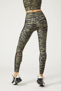 Nala Legging Downtown Zebra Olive