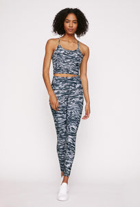 Avery Cropped Tank Dark Denim Tigress SHIRT W.I.T.H.-Wear It To Heart