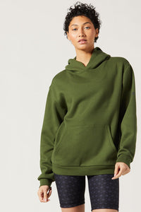 Driver Relaxed Hoodie Lichen
