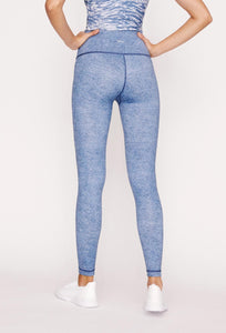 High-Waist Reversible Stone Denim Tigress Legging