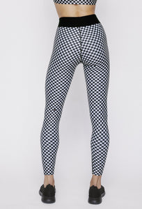 Iggy Leggings Black Gingham PANTS W.I.T.H.-Wear It To Heart