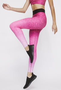 Iggy Leggings Neon Pink Cheetah PANTS W.I.T.H.-Wear It To Heart