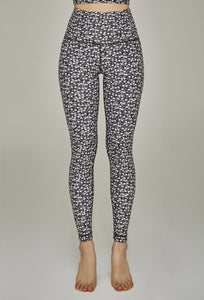 High-Waist Legging Black Daisy