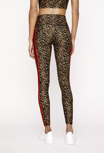 High Waisted Leggings Natural Cheetah PANTS W.I.T.H.-Wear It To Heart