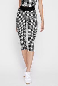 Iggy Capris Black Gingham PANTS W.I.T.H.-Wear It To Heart BLACK GINGHAM XS