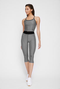Iggy Capris Black Gingham PANTS W.I.T.H.-Wear It To Heart