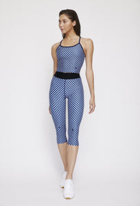 Iggy Capris Navy Gingham PANTS W.I.T.H.-Wear It To Heart