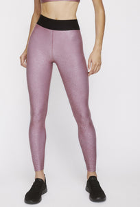 Iggy Leggings Franken Pink With Stardust Silver PANTS W.I.T.H.-Wear It To Heart FRANKEN PINK XS