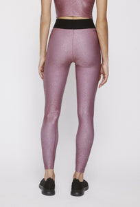 Iggy Leggings Franken Pink With Stardust Silver PANTS W.I.T.H.-Wear It To Heart