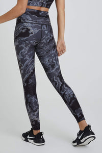 High Waist Leggings Black Nile