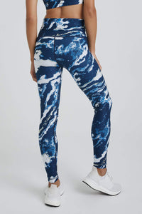 High Waist Leggings Blue Nile