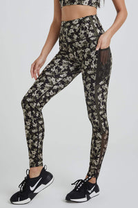 Nala Leggings Botanical Olive