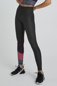 High Waist Leggings Charcoal Topsy Turvy