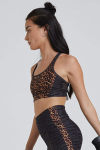 Strappy Bra Viva Cheetah