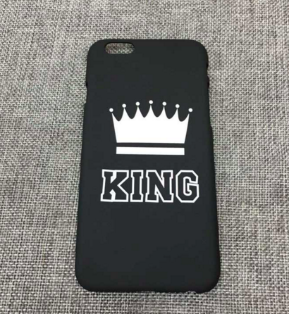 Queen and King - Cases of iphone