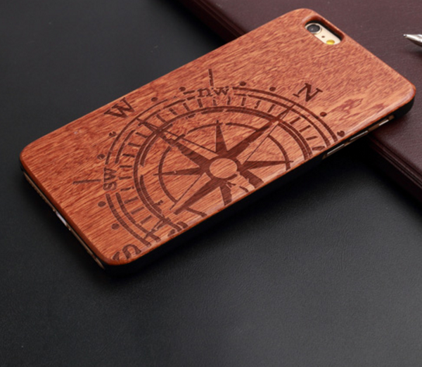 Luxury bamboo wood phone case for Iphone (from 5 to 7) cover wooden high quality shockproof