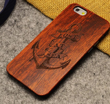 Luxury wood phone case for Iphone (from 5 to X ) and  shockproof