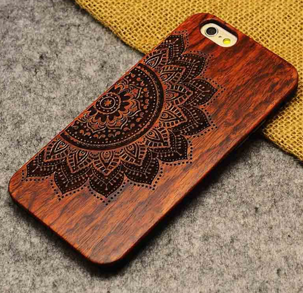 Luxury wood phone case for Iphone (from 5 to 7) and  shockproof