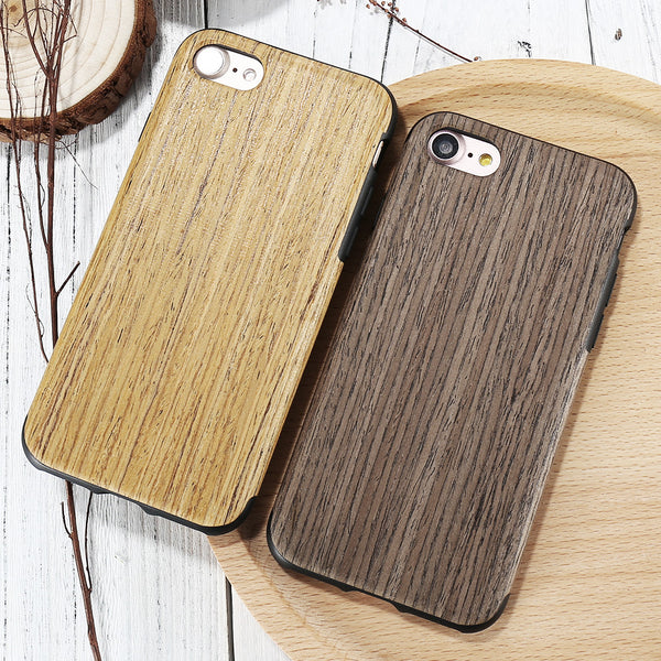 Thin luxury bamboo wood phone case for iphone 5S SE 5 5G