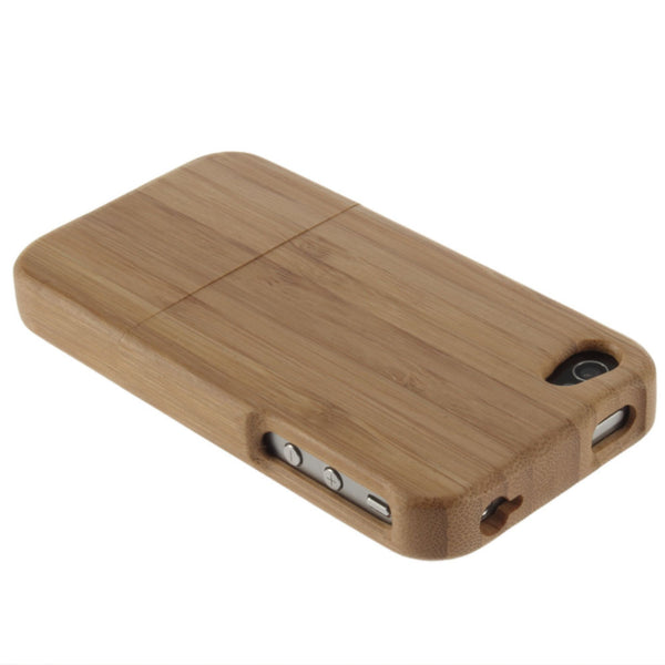 Bamboo wood hard case cover for Iphone 4 4S
