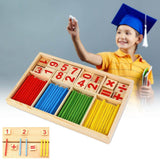 Wooden blocks for children, to build their Mathematical Intelligence