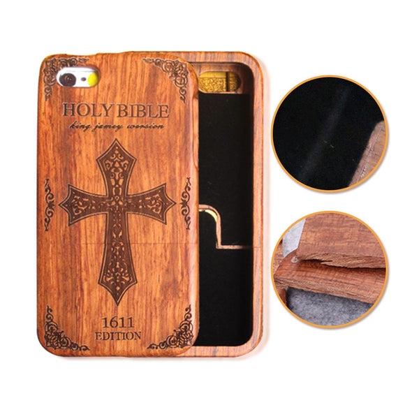 Original natural wooden bamboo phones cases for Samsung GALAXY S5 S6 Edge S7 PLUS NOTE 5 and for Apple Iphones 6 6S PLUS 5 5S SE