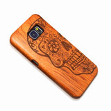Original carved bamboo cases for Samsung GALAXY S5, S6 Edge, S7 PLUS, NOTE 5