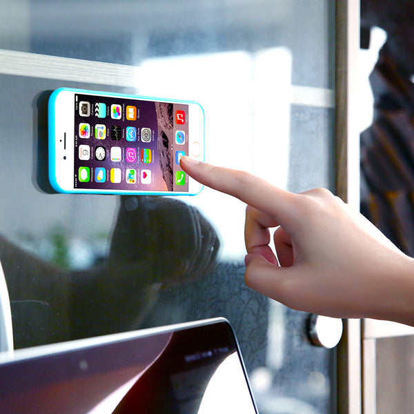 Anti-Gravity phone's case for iPhone 6 6s / Plus with the antigravity nano suction cover