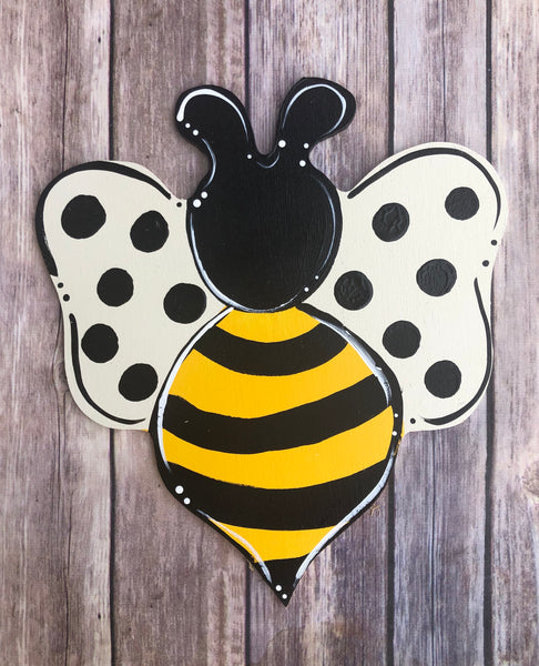 Bumble Bee | Wreath Sign Attachment | Spring Sign