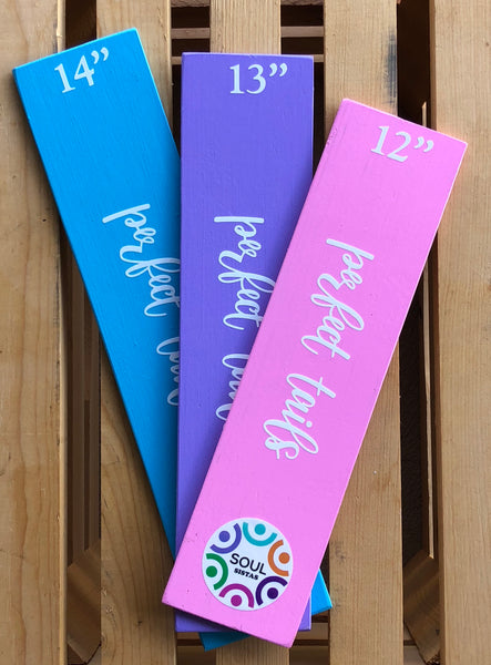 Perfect Tails Ribbon Rulers for Wreath Makers Soul Sistas!