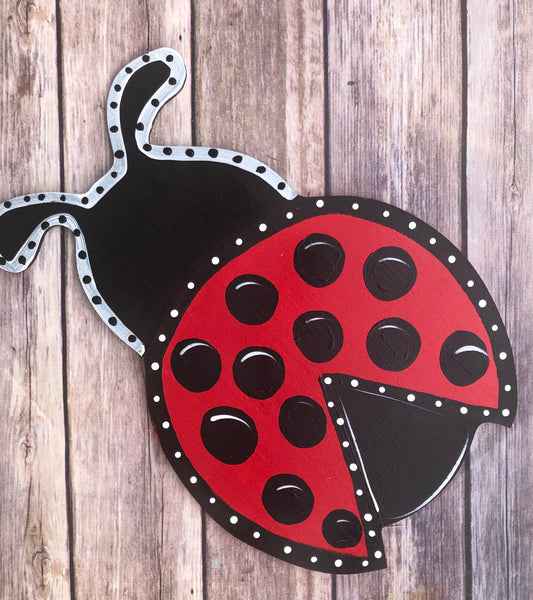 Ladybug | Wreath Sign Attachment | Spring Sign