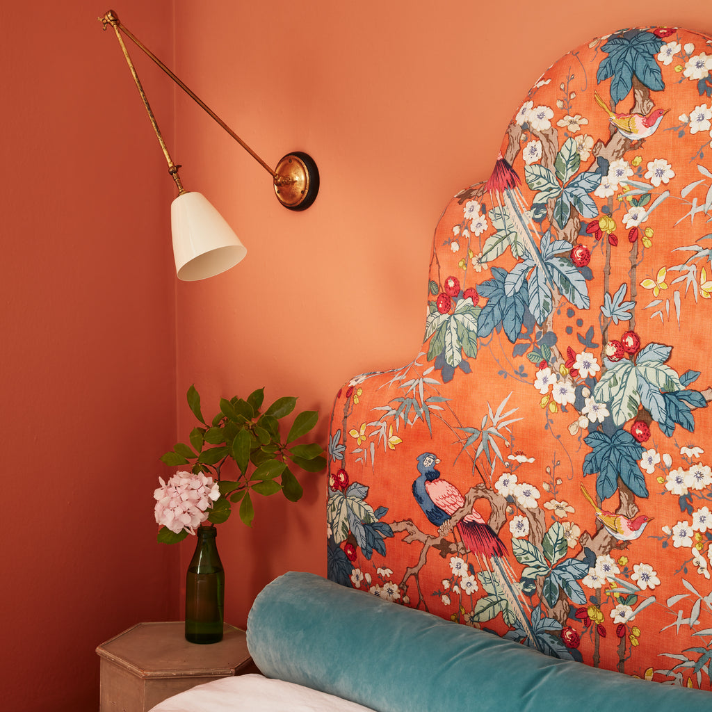 Linwood Upholstered Headboard Orange
