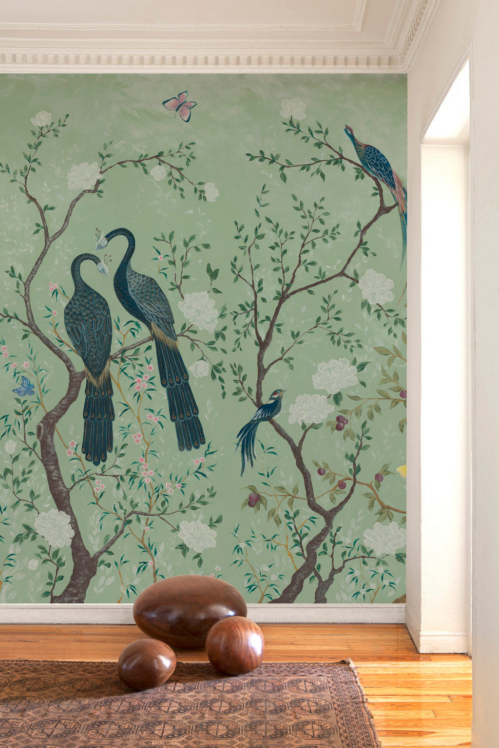 Edo Mural Coordonne at Mister Smith Interiors