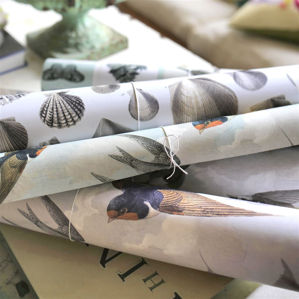 John Derian Selection of wallpaper rolls