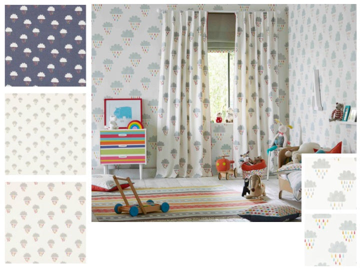 Harlequin April showers fabric and wallpaper at Mister Smith Interiors