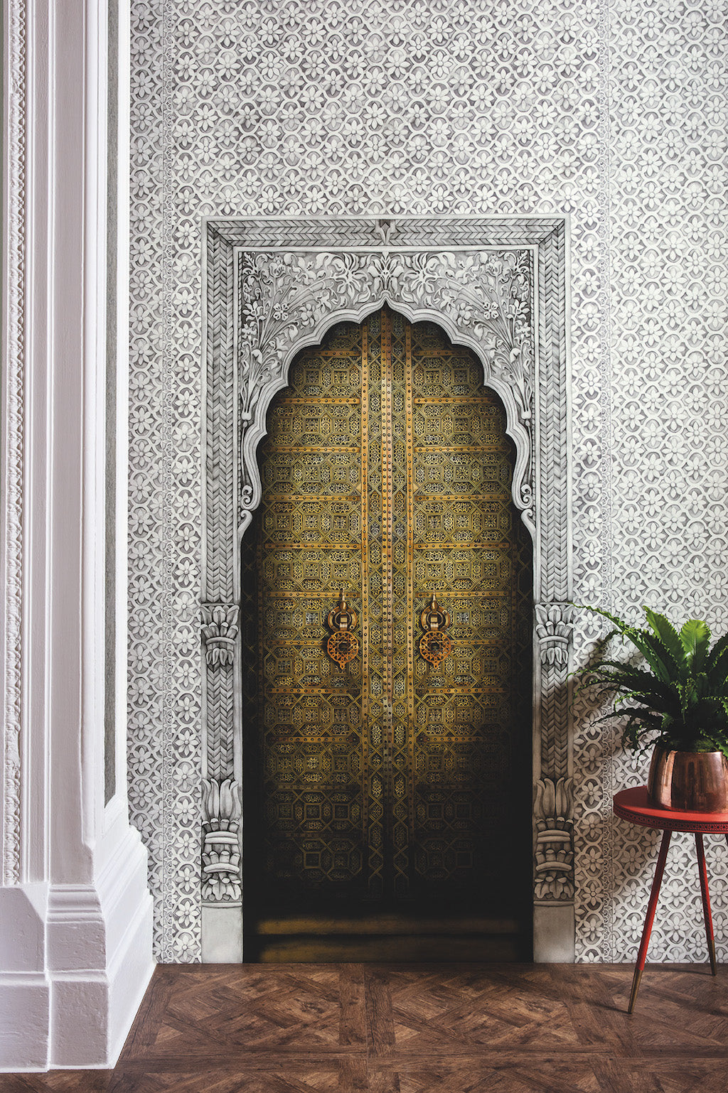Bahia Doorway Wallpaper Panel
