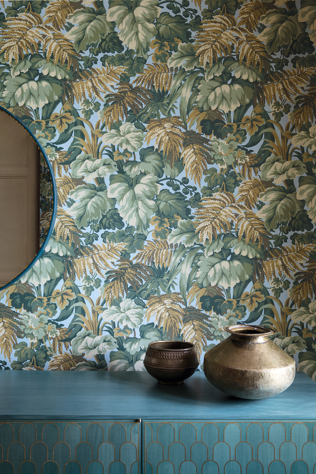 Royal Fernery Wallpaper