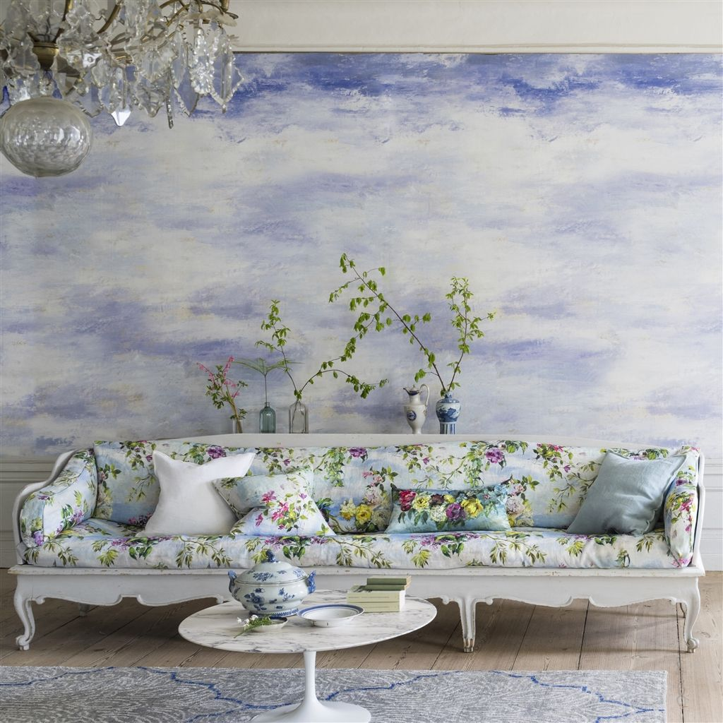 Designers Guild Cielo Clouds Wallpaper at Mister Smith Interiors