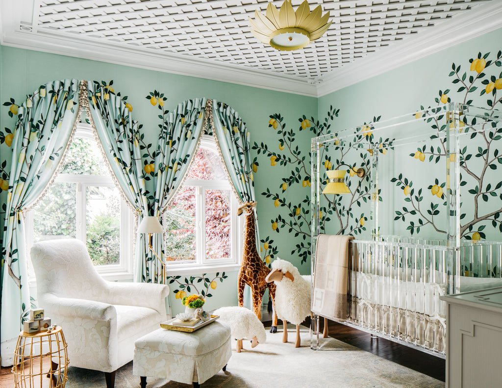 Lemondrop Lullaby by Diana Bandman Interiors