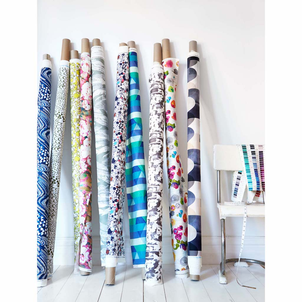 Imogen Heath Fabrics on the roll