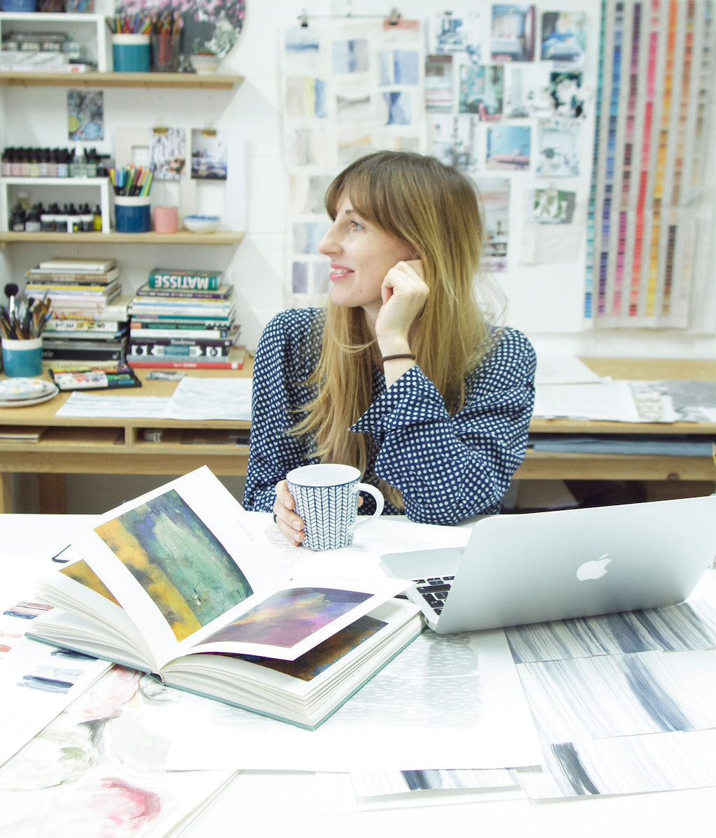 Imogen Heath in her Brighton Studio
