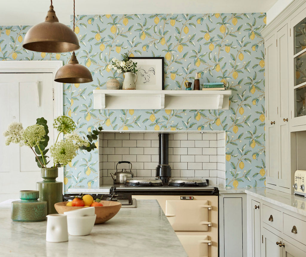 Lemon Tree Wallpaper Melsetter Morris
