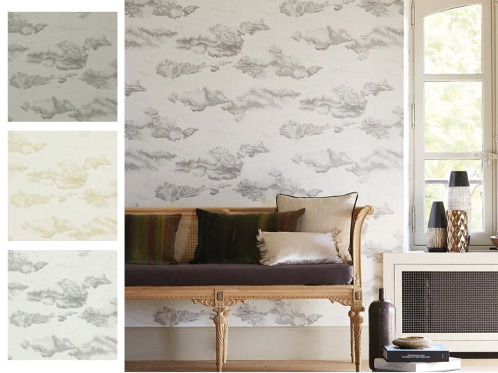 Harlequin Nuvola Cloud Wallpaper at Mister Smith Interiors
