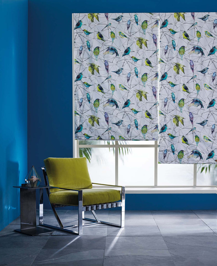 O&L Blind Fabric Birds